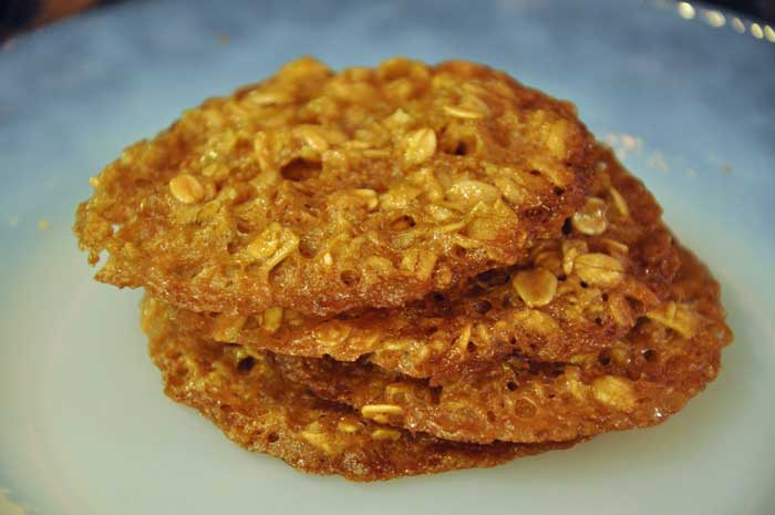 Oatmeal Pecan Lacey Cookies~Gluten Free Easily! - All ...