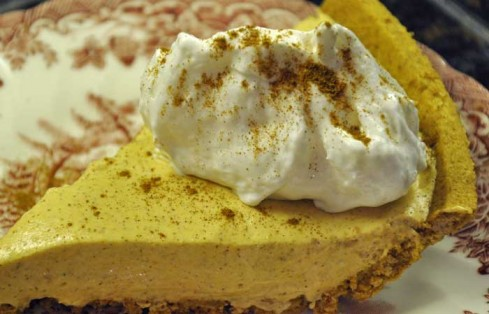 Pumpkin Spice No-Bake Cheesecake (Weight Watcher's Recipe!) - All ...