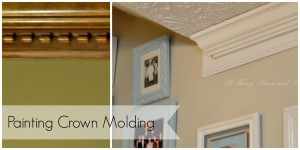 Painting Stained Wainscoting, Molding, and Doors…