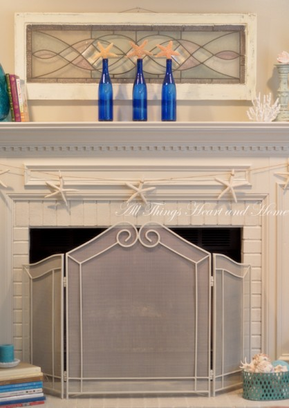 Freshen that Fireplace! - All Things Heart and Home