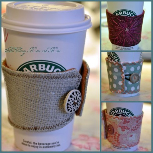 diy coffee cozy