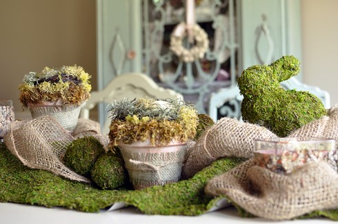 Woodland Theme table Ideas