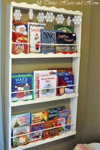 Easy Book Display Shelf!