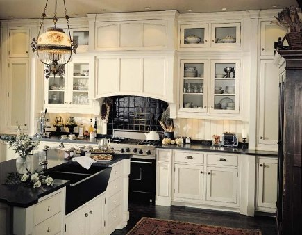 Black Farmhouse Kitchen Sink : ... had this romantic notion about apron front sinks aka farmhouse sinks