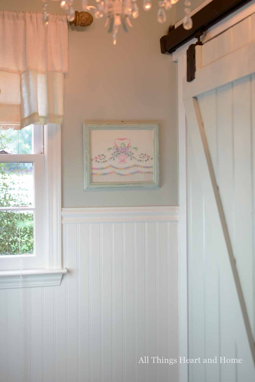Pantry With A Sliding Barn Door!