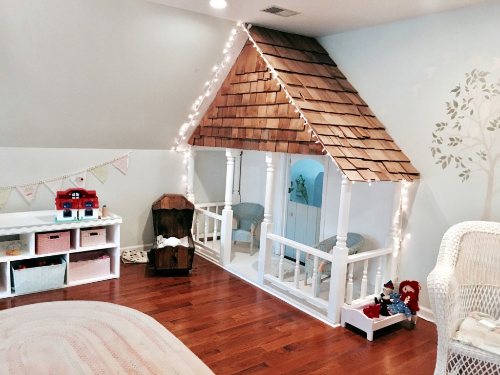 Indoor Playhouse Reveal! - All Things and Home