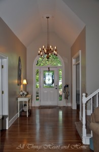 Entry Way ~ Before & After