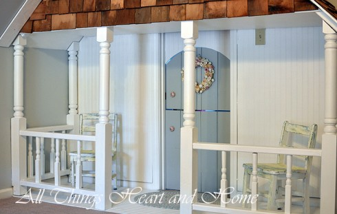 Indoor Playhouse Reveal! - All Things Heart and Home