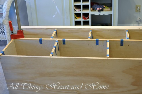 diy cubby storage