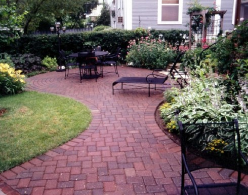 Red Brick Paver Patio The Hippest