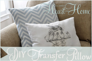 Iron On Transfer Pillows