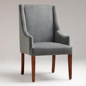 I Was Planning On Sewing Chair Covers This Year For The Dining Room Chairs But These New Give Exactly Look Wanted And World Market