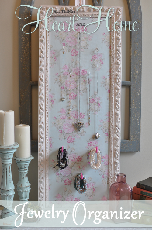 DIY Jewlery Holder - All Things Heart and Home
