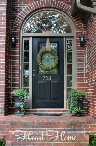 Tudor Arched Front Door All Things Heart And Home