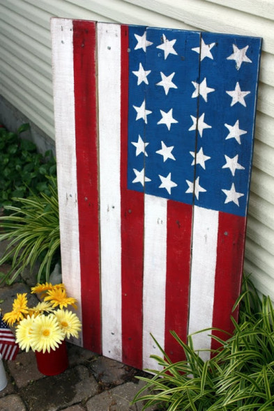 DIY American Flags! - All Things Heart and Home