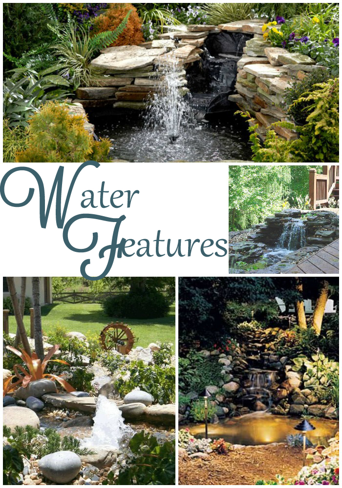 Backyard Waterfalls Diy : DIY Backyard Waterfall & Pond  All Things Heart and Home