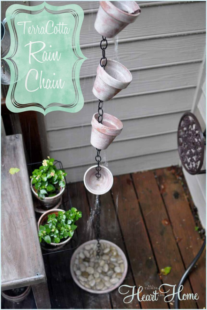 rain chain diy all things heart and home