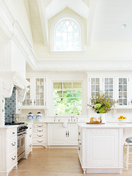 white kitchen love! - all things heart and home