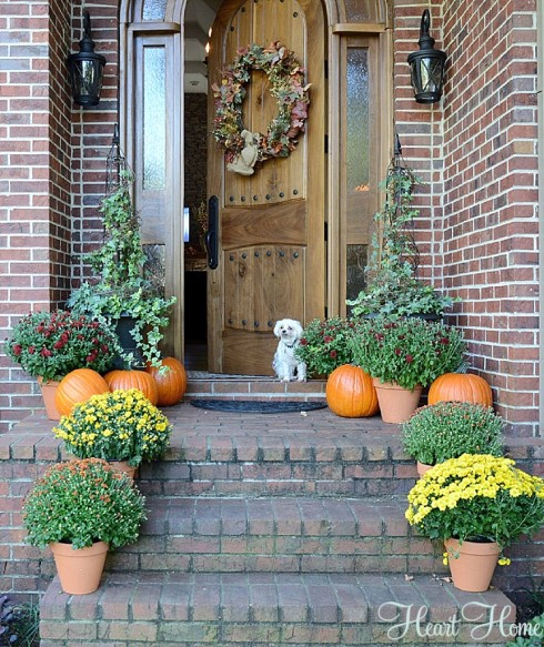 fall porches