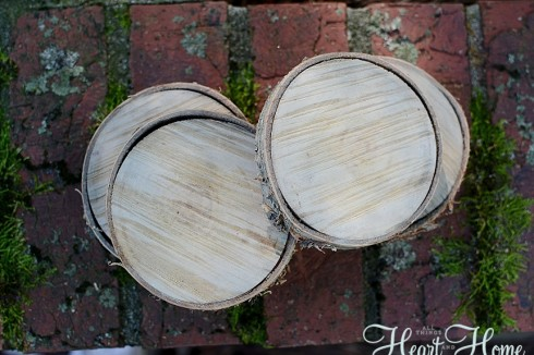 DIY Rustic Wood Cupcake Holder