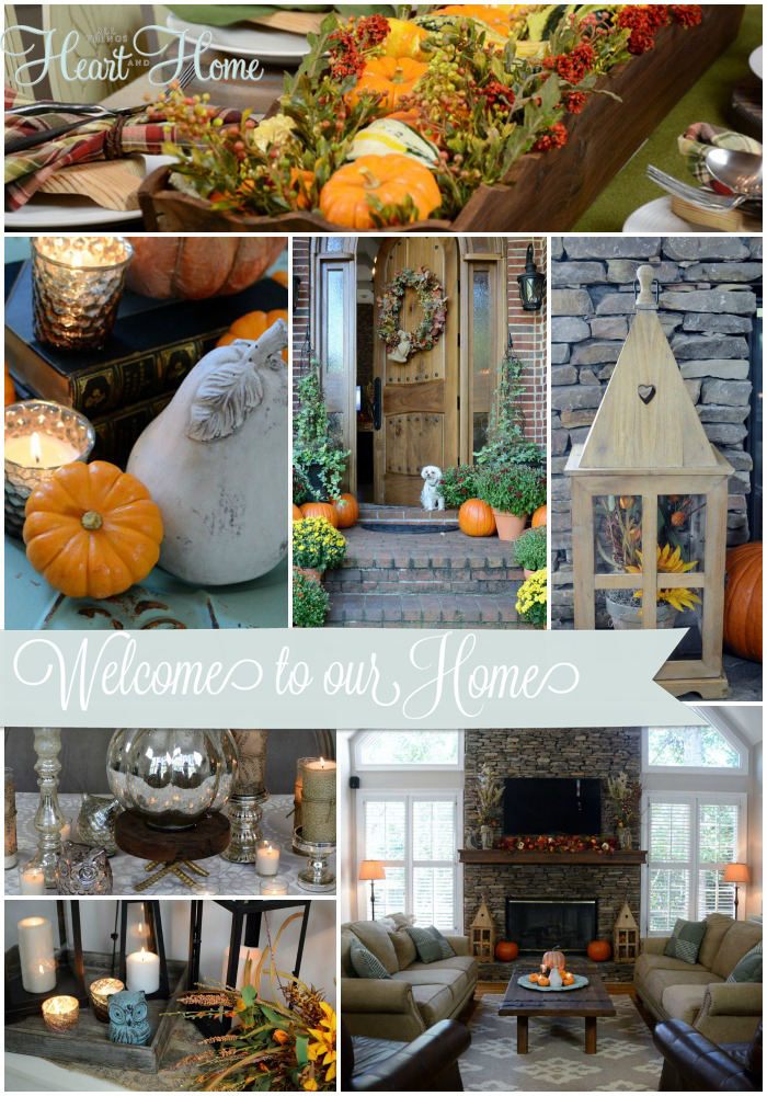 Finding Fall Home Tour With Better Homes U0026 Gardens!   All Things Heart And  Home