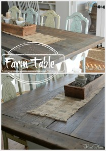 How To Make A Farm Table Archives All Things Heart And Home - How to make a farm table