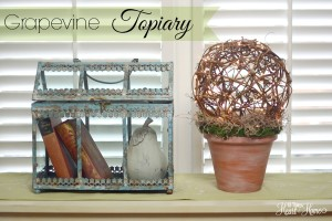 Grapevine Ball Topiary~Lighted!