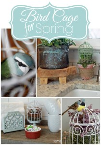 Bird Cage Craft for Spring!
