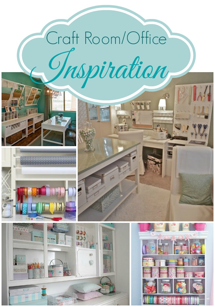 Craft Room Inspiration From Pinterest