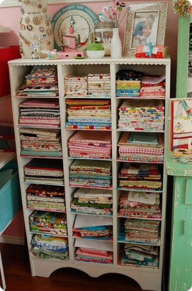 Craft Room Organization Fabric All Things Heart And Home