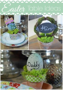 Easter Table Ideas!