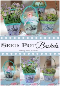 Seed Pot Baskets