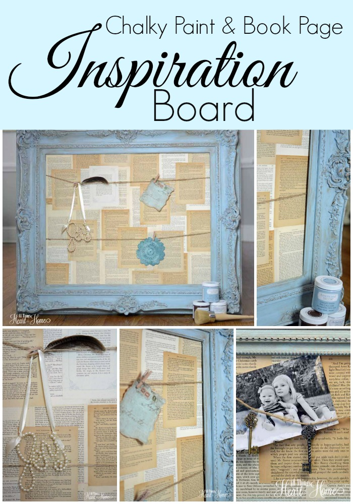 Decoart Chalky Paint Inspiration Board All Things Heart