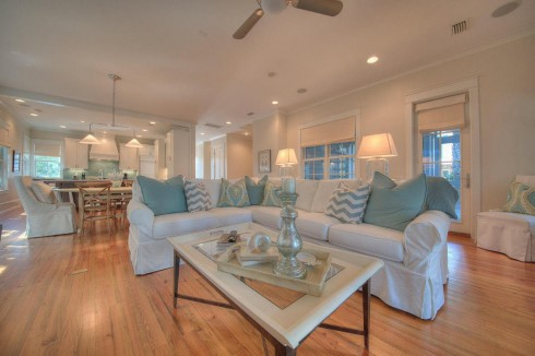Beach House Decorating All Things Heart and Home – Beach House Open Floor Plans