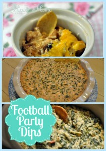 Favorite Football Party Dips!