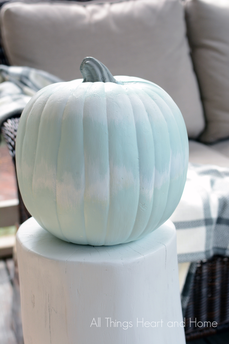 Ikat-Inspired-Pumpkin