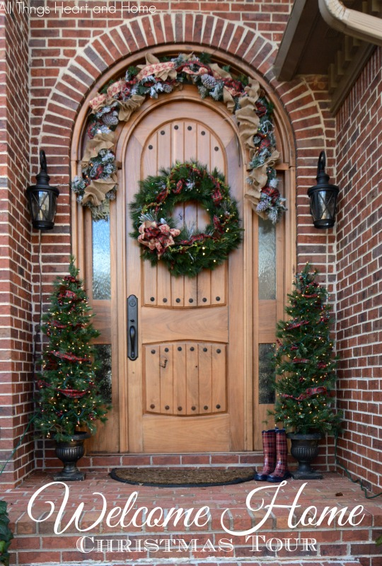 Welcome Home Christmas Tour All Things Heart And Home