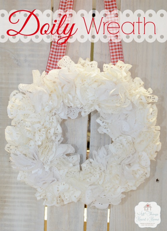 ~Doily Wreath~