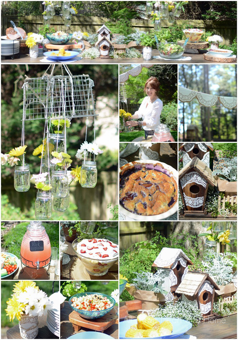 Garden Party Gatherings for Heart & Home All Things