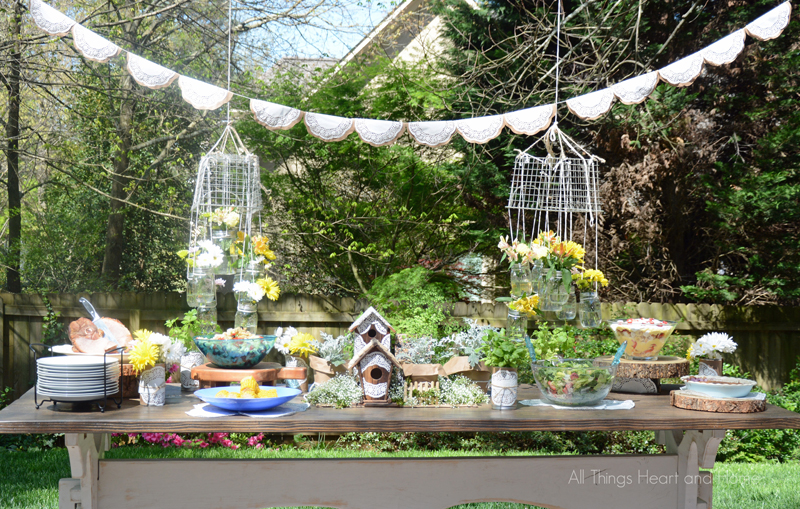 Garden PartyGatherings for HeartHomeAll Things Heart and Home