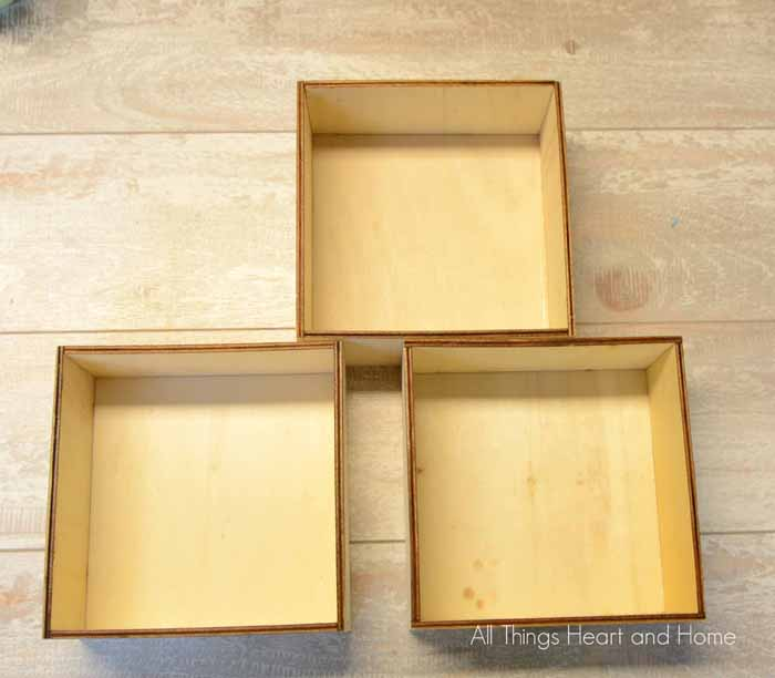 Easy Shadow Box Frames - All Things Heart and Home