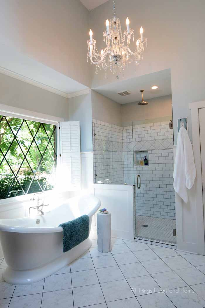 Master Bath Reveal - All Things Heart and Home