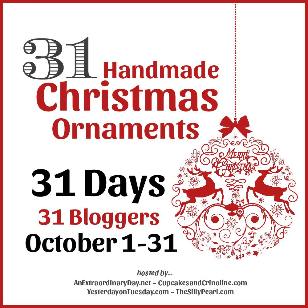 31 Days of Christmas Ornaments!