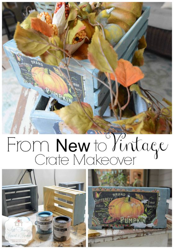 crate makeover