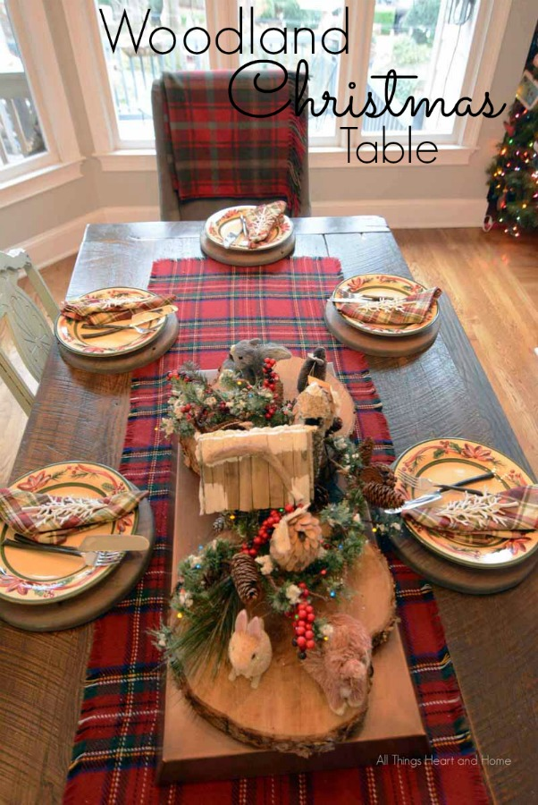 Woodland Christmas Table 2