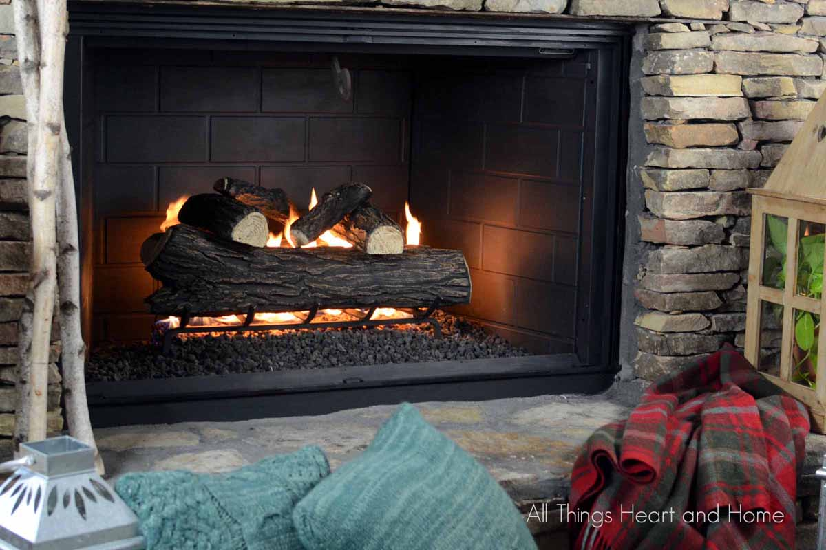 fireplace makeover part 2 all things heart and home