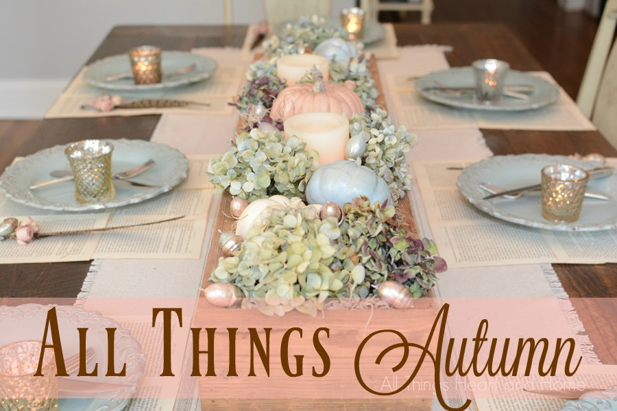 Autumn Inspired Inspiration-88 Articles with Project, Entertaining & Recipe Ideas-