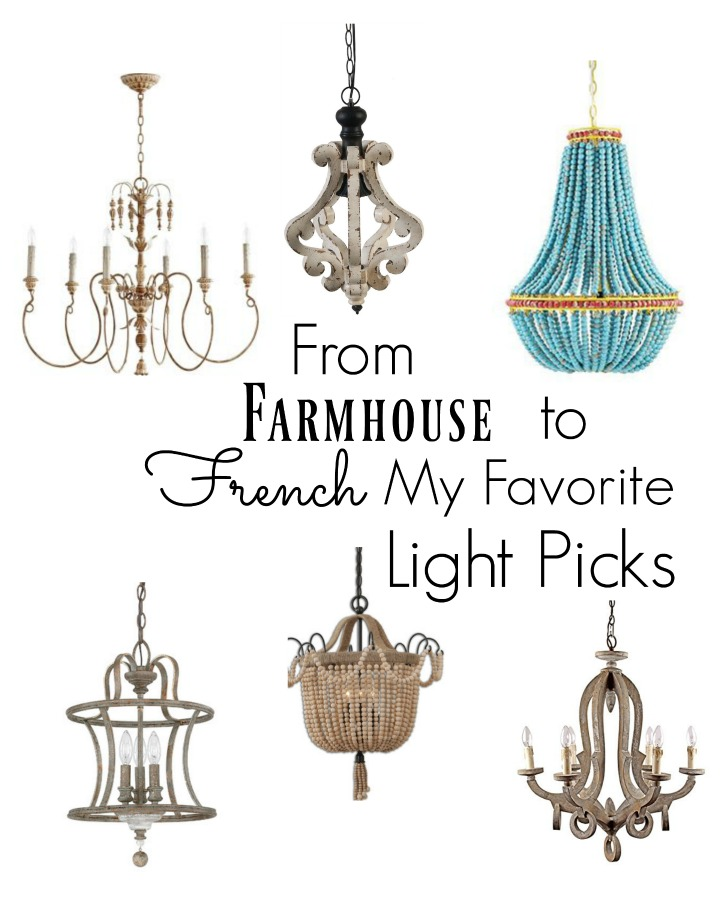 French Farmhouse Lighting Lighting Ideas