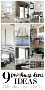 Nine Ideas for Farmhouse Decor