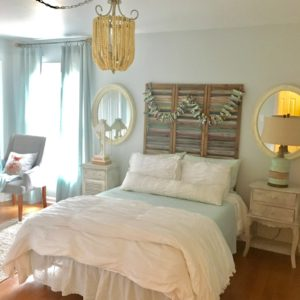 Budget Friendly Guest Room Makeover